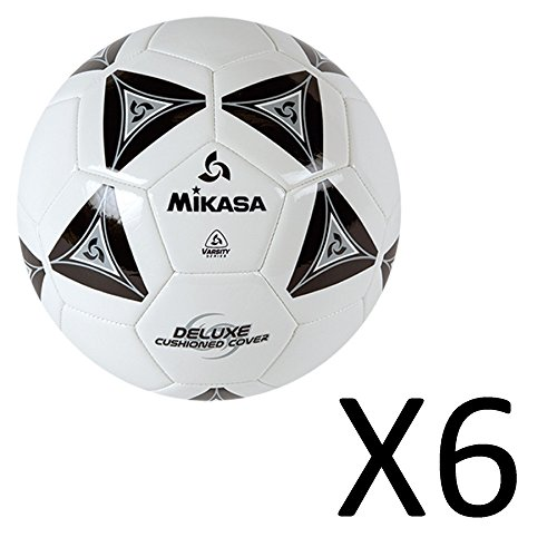 Mikasa Deluxe Soccer Ball 6 Pack by Mikasa (Image #1)