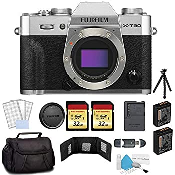 Amazon.com: Fujifilm X-T30 Cámara digital sin espejo: Camera ...
