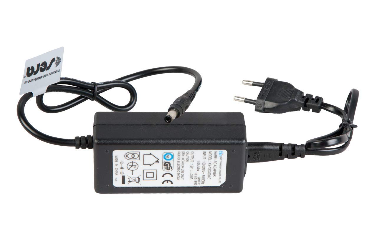 Sera 31161 Vorschaltgerä t 3A (Input 100-240V 50/60 Hz & Output 12V DC) XXL & marin Biotop LED Cube 130 sera GmbH
