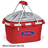 Bulk Buys University of Mississippi Metro Basket - Pack of 2