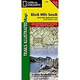 Black Hills National Forest, Southeast, Windcave National Park : Trails Illustrated National Parks (National Geographic Trails Illustrated Map)