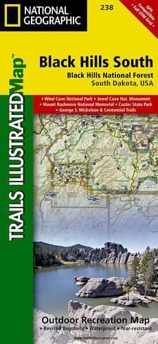 Black Hills South Black Hills National Forest National - Black hills national forest on us map
