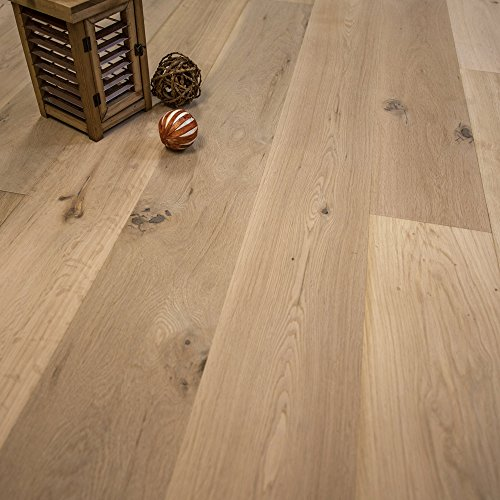 (French Oak Unfinished Engineered Wood Floor, 7 1/2 x 5/8 SE, 1 Box, by Hurst Hardwoods)