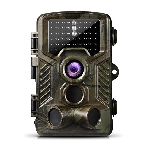 Ailink Game Camera 16MP 1080P HD Trail Camera 65ft Infrared Night Vision 120 Wide Angle 46 LEDS 0.2s Pre Speedy Trigger IP56 Waterproof with Display LCD for Wildlife Scouting Hunting (Classic)