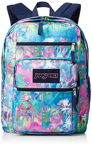 Jansport Unisex Big Student Backpack (OS, Electric Palm)