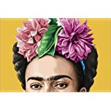 Poster 60 x 40 cm: frida by Claudio Limón - high quality art print, new art poster