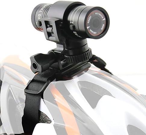 LSSLSS Cámara para Casco de Motocicleta, Full HD 1080P Mini Sports ...