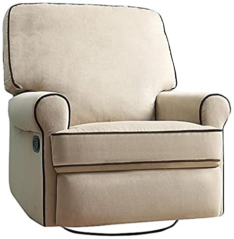 Amazon Com Pulaski Birch Hill Swivel Glider Recliner Doe With
