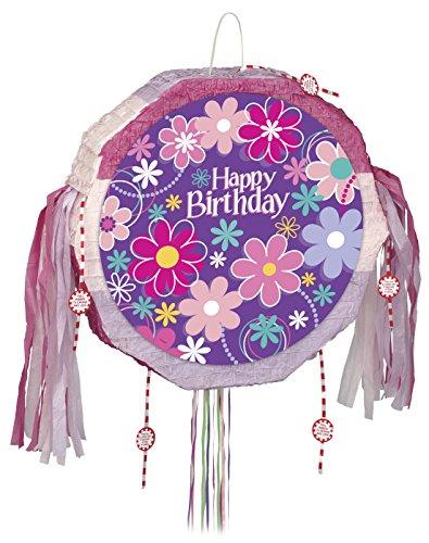 Blossom Birthday Pinata, Pull String]()