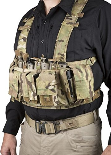 VTac Assault Chest Rig  Multi-Camo B073YMJK14