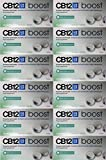 CB12 Boost Eucalyptus White Chewing Gum Pack of 12