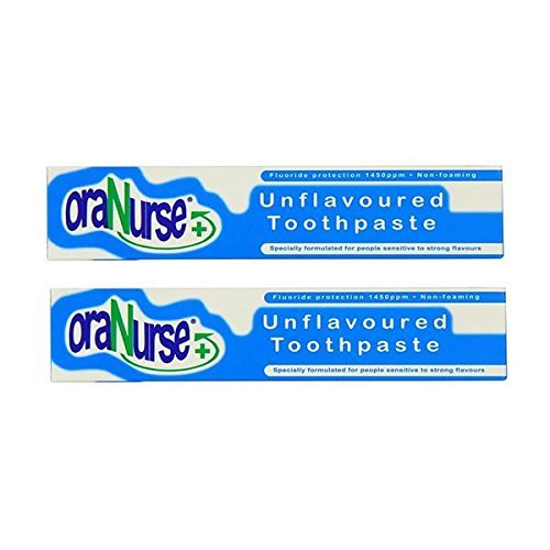 Oranurse 50ml Unflavoured Toothpaste Pack of 2 by Oranurse