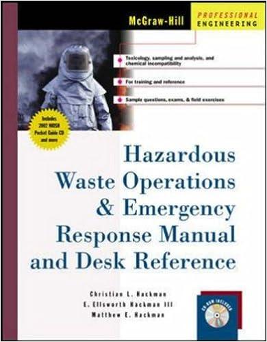 Amazon.com: Hazardous Waste Operations & Emergency Response Manual ...