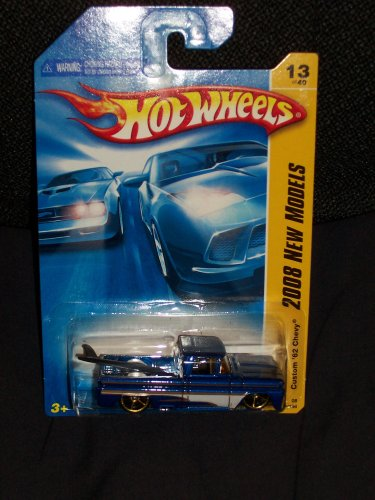 Hot Wheels 2008 First Editions Custom '62 Chevy Pickup 13/40,