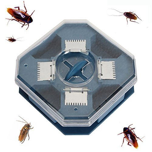 ant traps- roach killer- roach traps-Large Reusable Automatic Cockroach Trap Efficient Bug Catcher Pest Control Box by Randall Elliott
