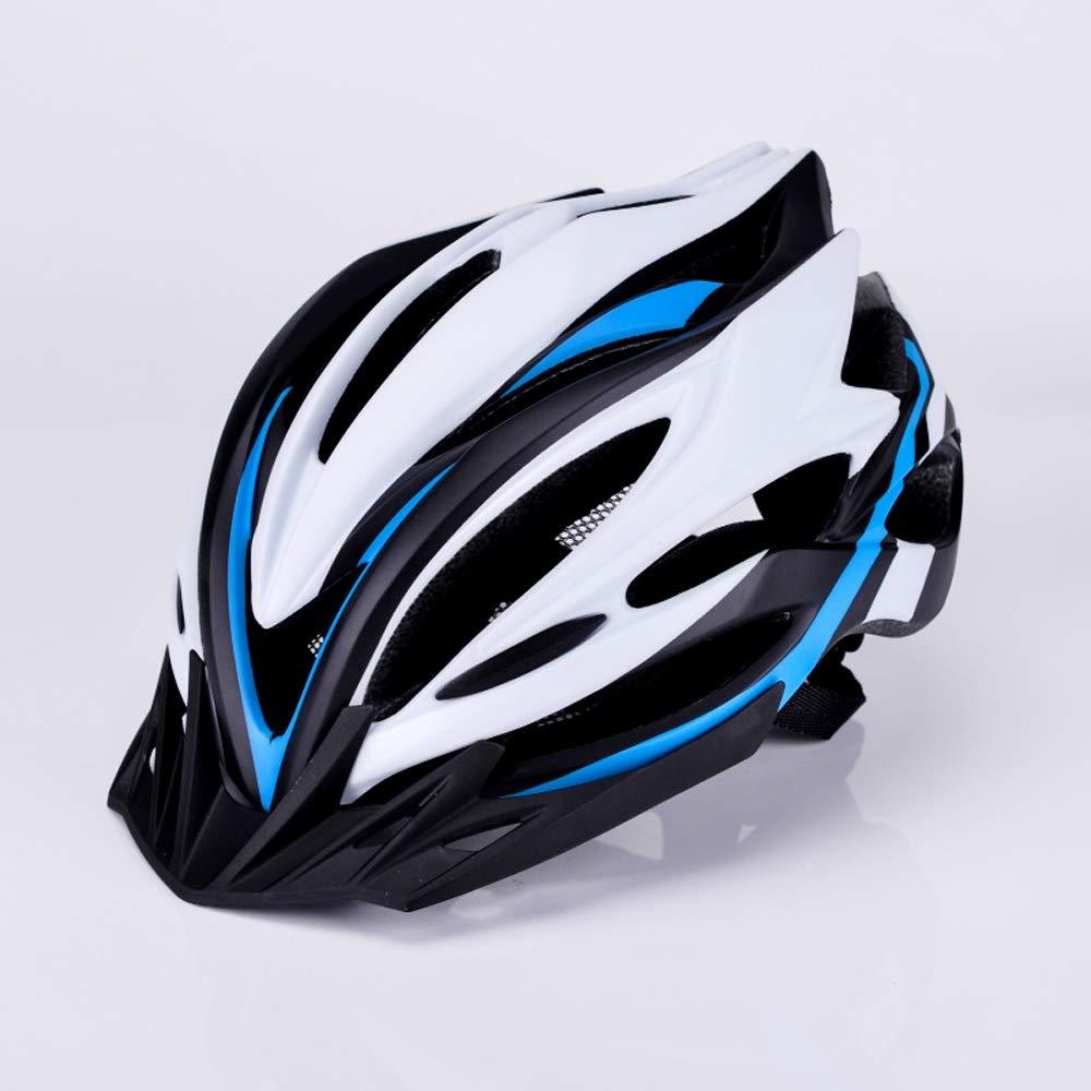 Bhelf Breathable Lightweight Bicycle Helmet Riding Helmet Mountain Bike Bicycle Helmet Men and Women Helmet Riding Equipment Multifunction Outdoor Riding Protection Equipment (Color : B)