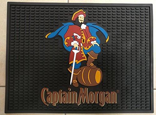 Captain Morgan Spiced Rum Professional Wait Station Bar Mat Spill Mat Drip Mat