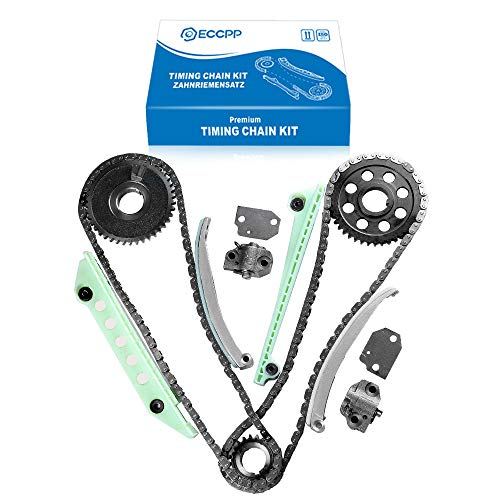 ECCPP TK6046W Fits 97-13 Ford Lincoln Mercury 4.6 4.6L SOHC 16V WINDSOR Timing Chain Kit ()