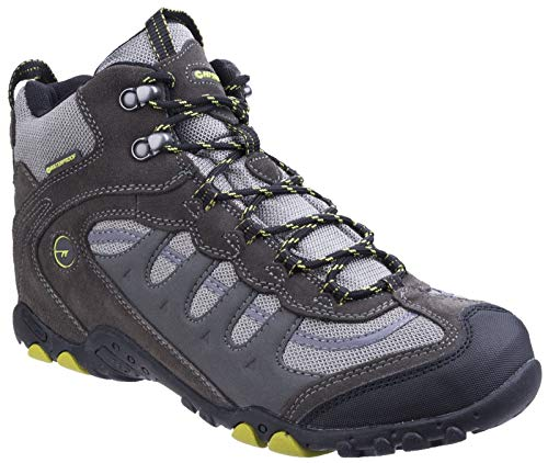 Hi-Tec Penrith Mid Waterpoof Trail Walking Boots - SS19-8 - Grey