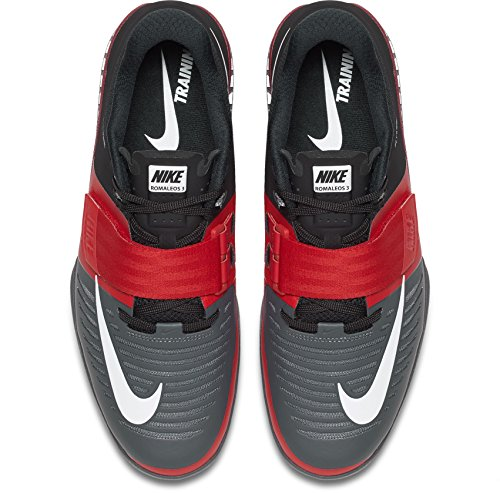 University black Red 3 dark Romaleos White Lifting Shoes Grey Weight NIKE Mens PYqwHU7