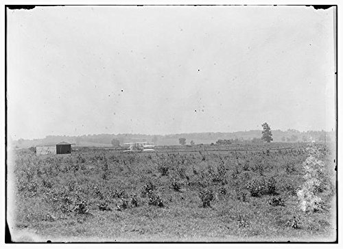 Photo: Wright Brothers, Huffman Prairie, Dayton, Ohio, Launching track, Hangar, Aviation, 1904 . - Picture Ohio Framing Dayton