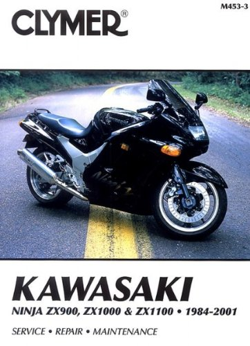 Amazon.com: Clymer Kawasaki Fours 900-1100cc Ninja Manual ...