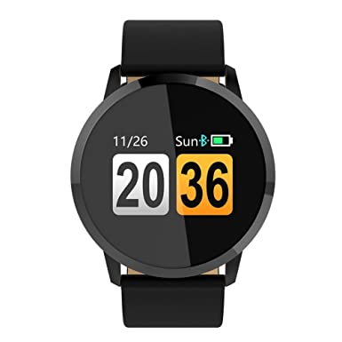 Reloj inteligente, Linstar Fitness Tracker pantalla de color nuevo Q8 reloj inteligente Bluetooth pulsera inteligente