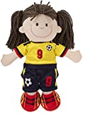 Toddler Little Girls Soccer Plush Toy Doll Player by Ganz with the Berenstain Bears We Love Soccer Book