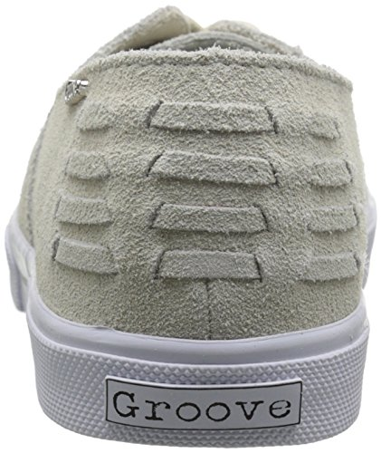 Groove Women's G-Man Fashion Sneaker Cream Suede jtEdH