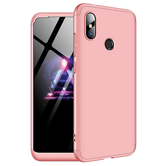 Xiaomi Redmi Note 6 Pro Case/Redmi Note 6 Protective case, MYLB-US Ultra-Thin 360 Degree Body Protection [3 in 1] PC Hard Shell Protective Shell for ...