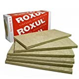 Rockwool Acoustic Mineral Wool Insulation 80-8lb 48''x24''x2'' 6pcs