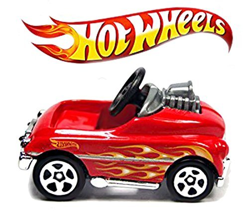 Hot Wheels 2015 HW City Pedal Driver 74/250, (Red Pedal Car)