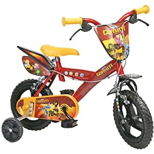 "Dino Bikes Spa A1102677 - Bicicleta infantil con diseño de Gormiti (12"", de 3 a 6 años)"