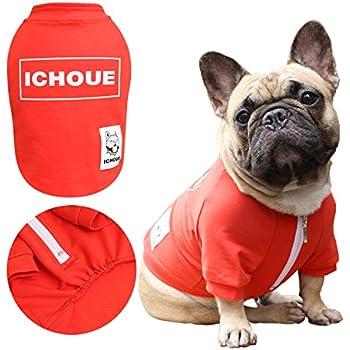 Amazon.com : iChoue Pets Dog Clothes Jacket French Bulldog