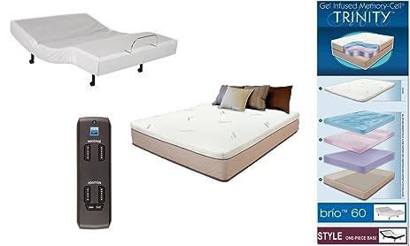 Amazon.com: Adjustable Wireless Remote Bed Frame Base Zero Gravity ...