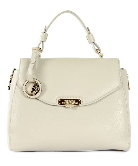 ca510fcf43 Versace Collection Handbag Vitello Stampa Alce Light Grey  Amazon.ca  Shoes    Handbags