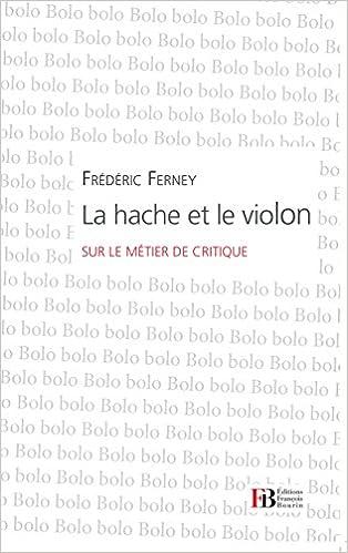 Livre La Hache et le Violon pdf, epub ebook