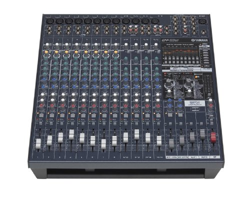 Yamaha EMX5016CF Powered Mixer BUNDLE w/ S115V PA Speakers,