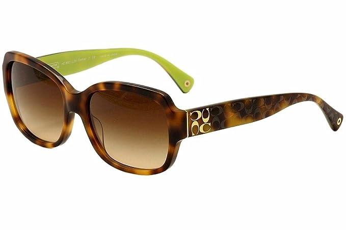 Amazon.com: Coach HC8001 - Gafas de sol para mujer, Marrón ...