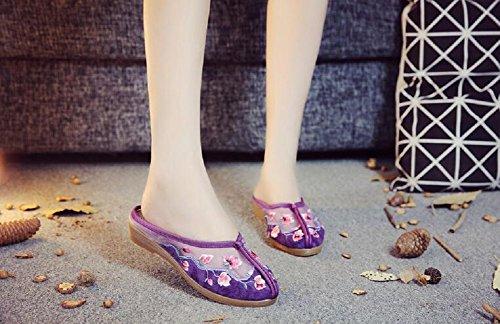 Chaussons Lazutom Femme pour pour Femme Violet Chaussons Violet Lazutom pour Chaussons Lazutom 1pqwSBqA8