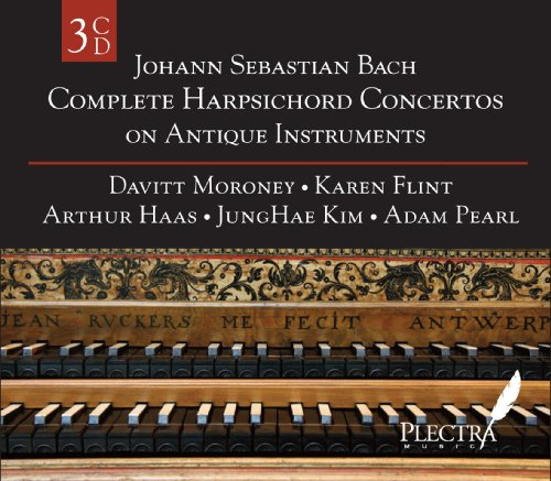 Complete Harpsichord Concertos on Antique (Bach Keyboard Concertos)