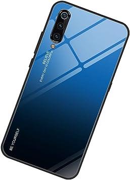 Caler Funda Vidrio Templado 9H Compatible con Samsung Galaxy M10 ...