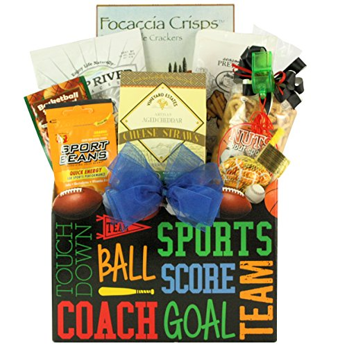 Armchair Athlete, Gourmet Sports and Snack Gift Basket