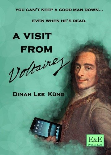 Book cover for A Visit from Voltaire