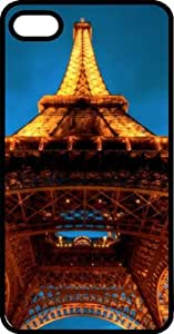 Eiffel Tower In the Blue Sky Black Plastic Case for Apple iPhone 6