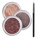 Green Eyes Smokey Mineral Eyeshadow Kit - 100% Pure All Natural Mineral Makeup - Not Bare Minerals, Bare Escentuals, Mineral Fusion, MAC