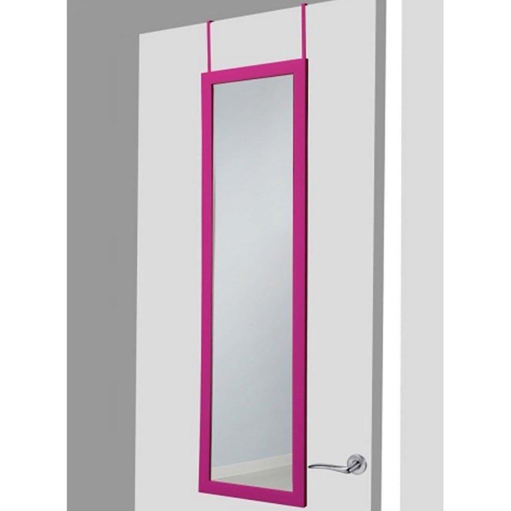 espejo para puerta fucsia