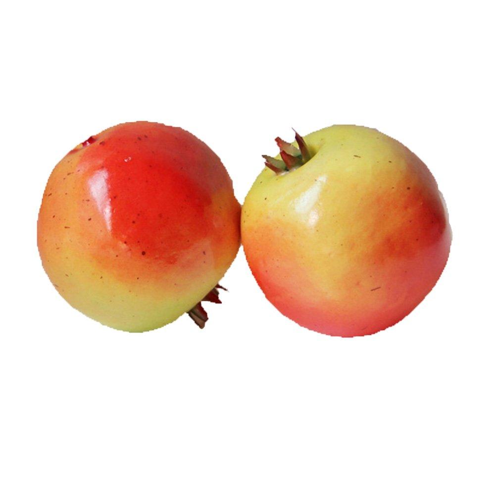 4pcs-人工Pomegranates – Pomegranateプラスチックレッドフルーツ B06Y69JMGV