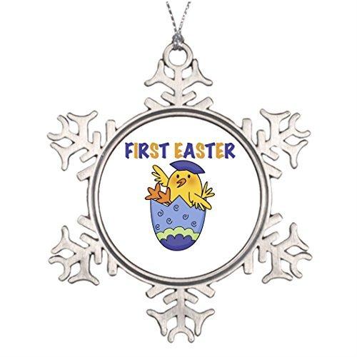 EvelynDavid Ideas for Decorating Christmas Trees Cute Western Christmas Snowflake Ornaments Tree Decor Infant