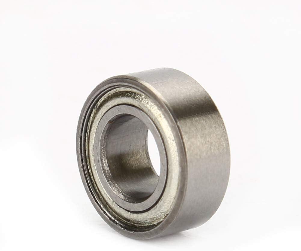 10 Piezas MR105ZZ Rodamientos en Miniatura Mini rodamiento de Bolas 5 mm X 10 mm X 4 mm Cosiki Rodamiento de Bolas